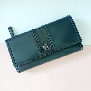 COACH genuine leather large wallet